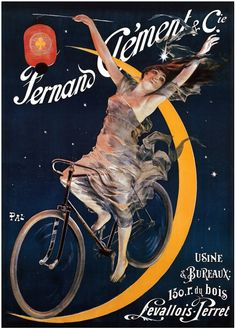 Vintage Poster, Clement Cycles
