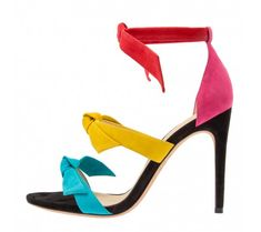 Image result for multi colored strappy sandal