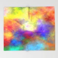 Buy Oh So Colorful by Christy Leigh as a high quality Throw Blanket. Worldwide shipping available at Society6.com. Just one of millions of products available.