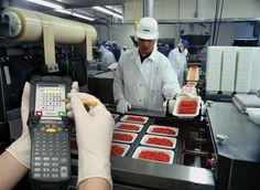 Handheld food manufacturing software
