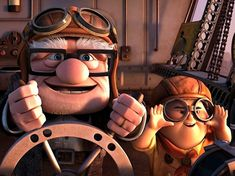 up carl and russell - Google Search