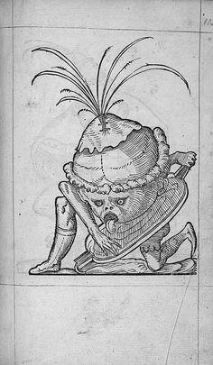 François Desprez,  f. G5 [i.e. H5] Dessin 115  Les Songes drolatiques de Pantagruel  A Paris : Par Richard Breton 1565