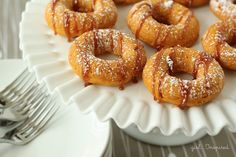 Two-Ingredient Pumpkin Donuts - girl. Inspired.