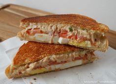 Mi Cocina Rápida: Sándwiches Calientes de Atún