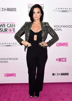It would be an understatement to say that Demi Lovato had the year of her life. Her relationship with boyfriend Wilmer Valderrama was stronger than ever. And her style was sexy yet polished, fitting of her new grown-up sound and lifestyle. From superchic and feminine dresses to trendy formfitting looks, Demi's 2015 was full of fashionable moments.