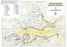 Nature Reserve Krantzkloof trails info Kloof KZN SA