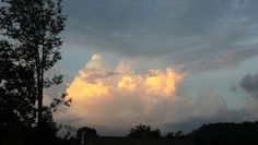 Storm cloud Tellico Plains, Storm Clouds, Celestial, Sunset, Outdoor, Sunsets, Outdoors, Outdoor Living, Garden