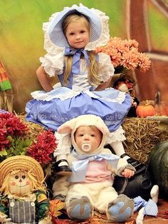 Babies' Halloween Costumes: Your Cutest Trick-or-Treaters - LITTLE BO PEEP & SHEEP - Halloween : People.com