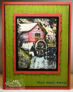 Stamps - Artistic Outpost Old Grist Mill Old Grist Mill, Stamps, Simple, Artist, Seals, Artists, Postage Stamps, Stamp