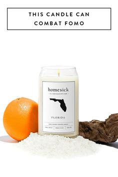 Say good-bye to FOMO with this candle that helps homesickness.