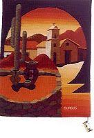 Artesanias Argentinas Weaving Art, Canvas Art, Tapestry, Activities, Crochet, Glass, Wall, Handmade, Inspiration