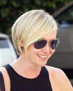 Portia de rossi's new hair cut!