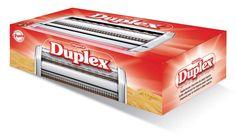 Duplex, l'accessorio da taglio doppio per due tipi di pasta. Vedi Simplex per i tagli.