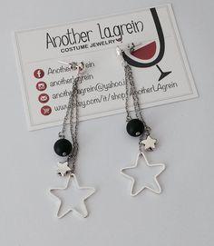 Orecchini con stelle orecchini pendenti con di AnotherLAgrein