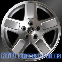 """Dodge Charger Magnum Factory OEM Wheel Rim 2246. Size 17x7"""" Machined Finish. Bolt Pattern: 5x114.3 mm"""