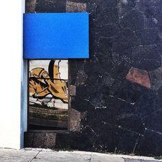 #blue #architecture #box photo by happymundane on Instagram
