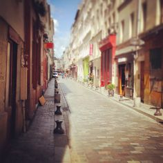 A little Street in Paris