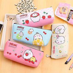 Katoot@ Cute Molang Rabbit Pencil case for girls Kawaii P... https://www.amazon.com/dp/B01N998NFC/ref=cm_sw_r_pi_dp_x_fOObzbFW991Q5