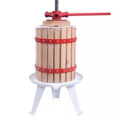 Fruit Wine Press Cider Apple Grape Crusher Juice Maker Tool Wood New 1.6 Gallon  | eBay