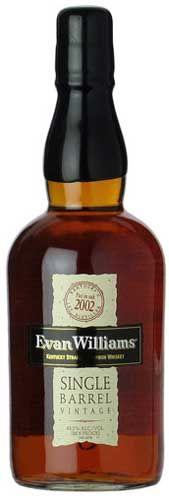 Evan Williams 2002 Vintage Single Barrel Kentucky Straight Bourbon Whiskey
