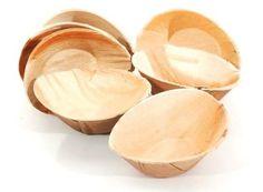Palm Leaf Bowl by Hampi, Raaga Style - case of 100