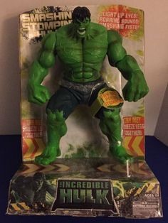 Incredible Smashin' Stompin' Hulk Light Up Eyes Works Excellent NIP | eBay