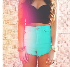 High shorts for summer☀