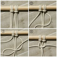 macrame square knot - myfrenchtwist.com