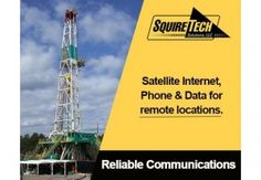 We offer satellite internet, phone and data for remote locations; including mining, oil and gas operations.