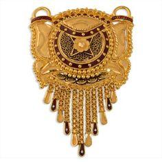 Gold Pendant, Pendant Jewelry, Gold Jewelry, Gold Mangalsutra Designs, Jewellery Showroom, Gold Locket, India Jewelry, Necklace Set, Bridal Jewelry