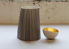 Justine Allison: Jug and gilded bowl