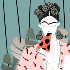 Sara Ciprandi, Italy — Frida on Behance