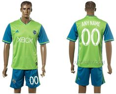 http://www.xjersey.com/201617-seattle-sounders-home-customized-jersey.html Only$35.00 #2016-17 SEATTLE SOUNDERS HOME CUSTOMIZED JERSEY #Free #Shipping!