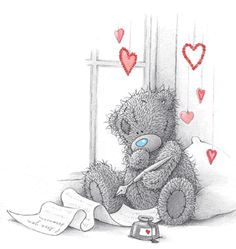 Tatty Teddy Love Letters