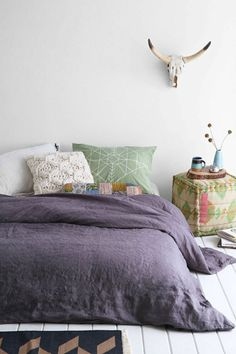 1000 id es sur le th me couette violet sur pinterest housses de couette vio. Black Bedroom Furniture Sets. Home Design Ideas