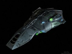 Star Trek Voyager - Voth ship