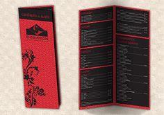 Primeiro cardápio de Sushi do Entre Amigos.  Ano: 2010.  CRIAÇÃO: www.facebook.com/midcomunicacao