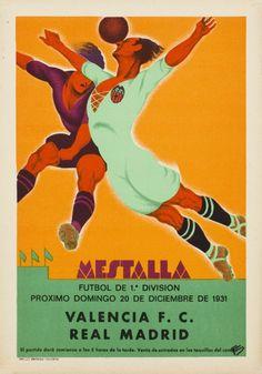 Mestalla Futbol  1e division, Valencia FC- Real Madrid