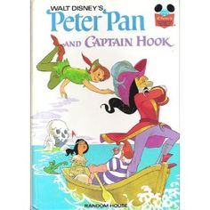 PETER PAN & CAPTAIN HOOK (Disney's Wonderful World of Reading)--I had this!