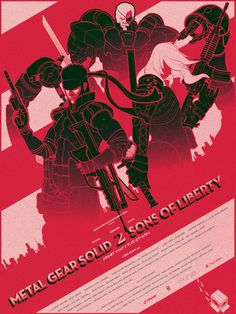 Metal Gear Solid 2 Sons of Liberty by Marinko MILOSEVSKI