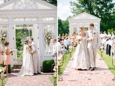 A Peach and Yellow Southern Wedding in Tennessee with a Garden Ceremony Wedding Tips, Summer Wedding, Wedding Ceremony, Wedding Venues, Wedding Planning, Places To Get Married, Got Married, Getting Married, Bridesmaid Dresses