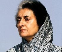 Indira Gandhi.1st woman prime minister of India.Born Indira Priyadarshini Nehru,Allahabad,United Provinces,India.Daughter of Jawaharlal Nehru,1st Prime Minister of India.Entered politics 1950,becoming Prime Minister in 1966.Convicted for election malpractices in 1975,declared state of emergency & ruled by 'decree'.In 1977 elections lost seat,but returned to power 1980.Following removal of militants by force from Golden Temple of Amritsar,assassinated by 2 of Sikh bodyguards at home in New…