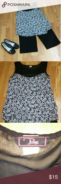 Pino Women's Dressy tank Excellent condition Tops Blouses