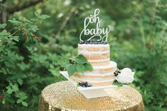Hey, I found this really awesome Etsy listing at https://www.etsy.com/listing/241970950/baby-shower-cake-topperoh-baby-cake