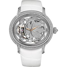 Audemars Piguet Millenary Tourbillon Rose Pavé White Gold 26354BC.ZZ.D204CR.01