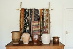 Indian Ceramics and scarves