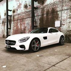 Fierce GTS spotted in Redfern. #weekdaycar #cars #carporn #merc #amg #amggts #mercedes