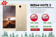 #XiaomiRedmiNote3 #4G LTE #Smartphone MTK Helio X10 5.5 Inch 1920x1080 pixels Screen Dual Cameras #3GB #RAM #32GB #ROM