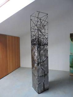 "Saatchi Art Artist Michele Rizzi; Sculpture, ""Geometric Dolmen ( organic future)"" #art"