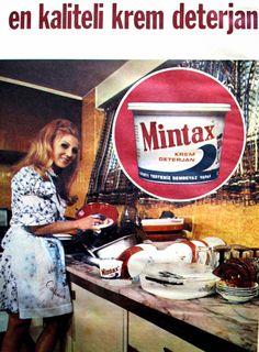 OĞUZ TOPOĞLU : mintax krem deterjan 1975 nostaljik eski reklamlar... Old Advertisements, Advertising, Old Poster, Istanbul, Turkish Design, Old Ads, Historical Pictures, The Good Old Days, Retro Design
